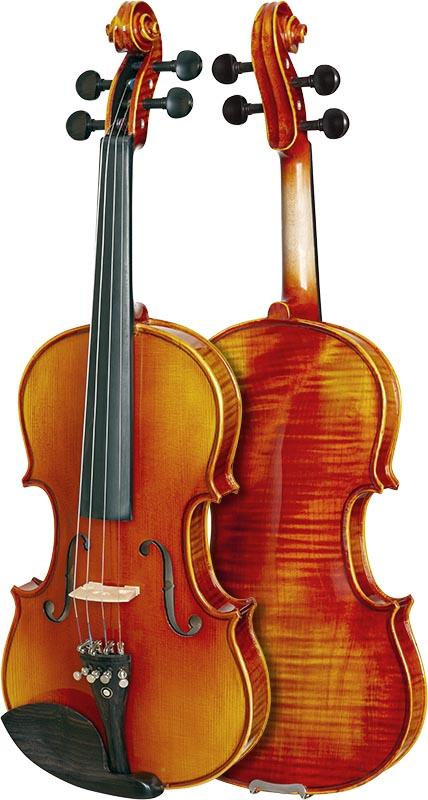 violino eagle master series ve845 frente verso
