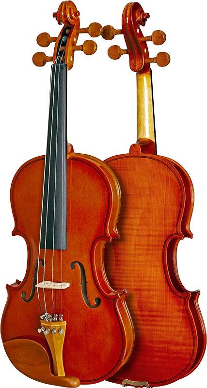 violino hofma classic series hve221 frente verso