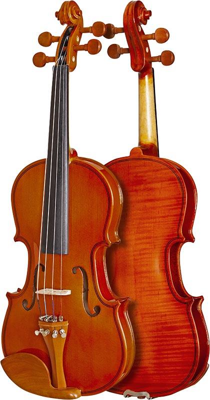 violino hofma classic series hve241 frente verso