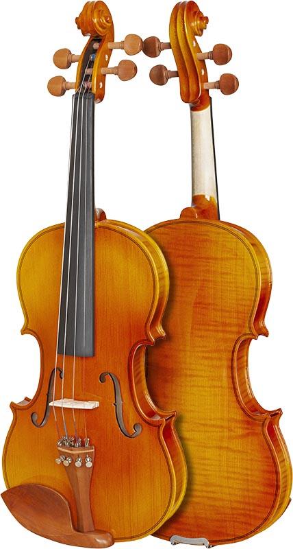 violino hofma classic series hve242 frente verso