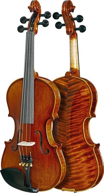 violino profissional eagle master series vk644 frente verso