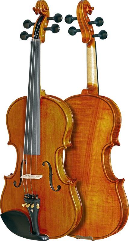 violino profissional eagle master series vk844 frente verso
