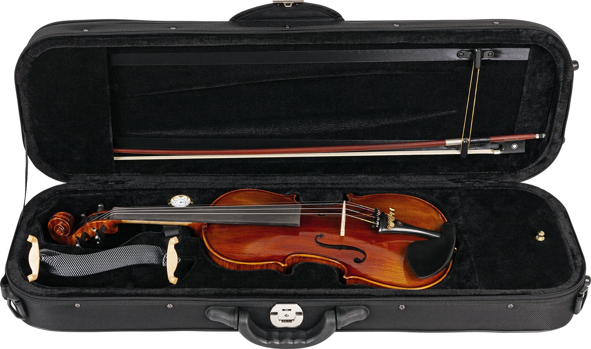 vk544 violino eagle vk544 estojo aberto