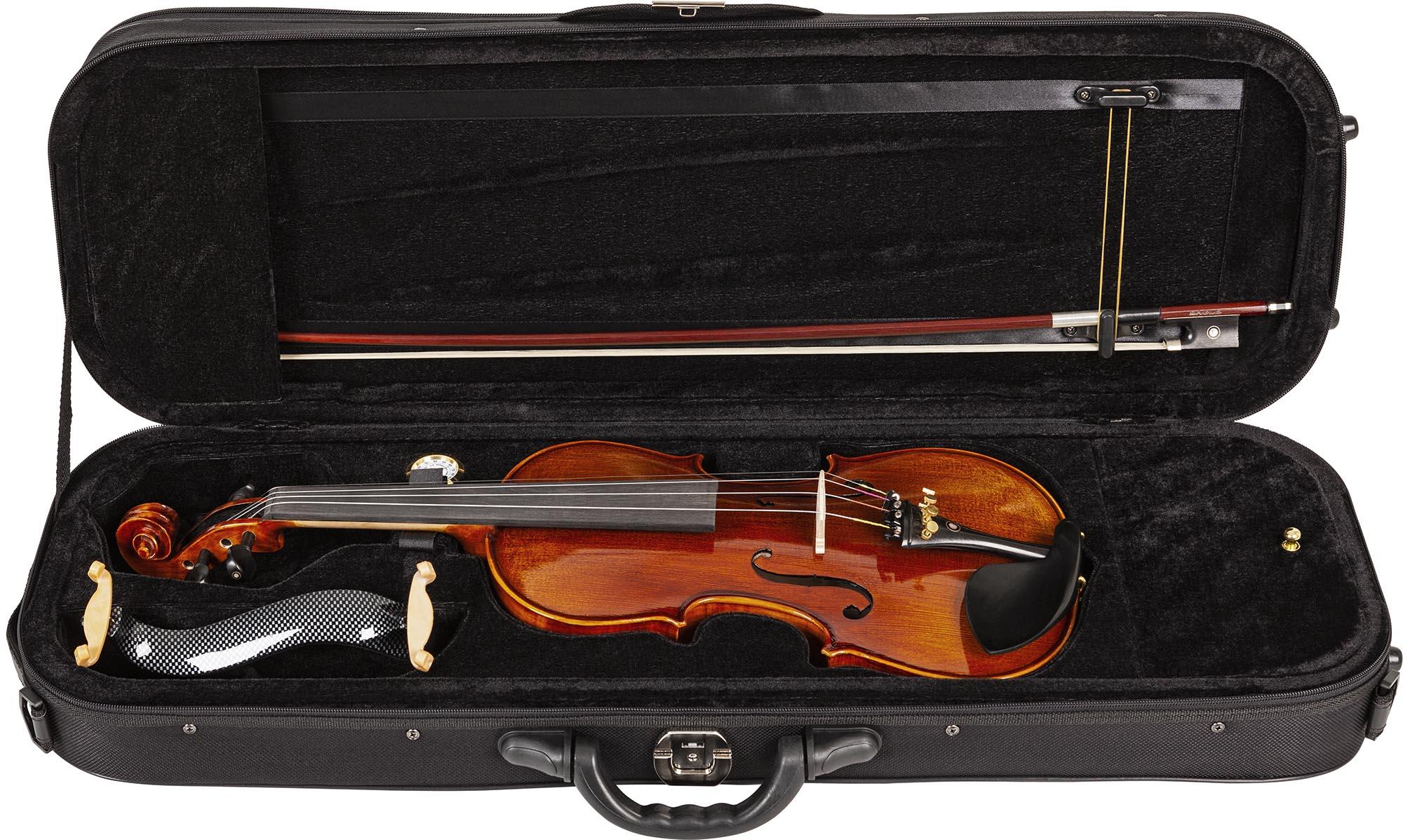 vk644 violino eagle vk644 estojo aberto
