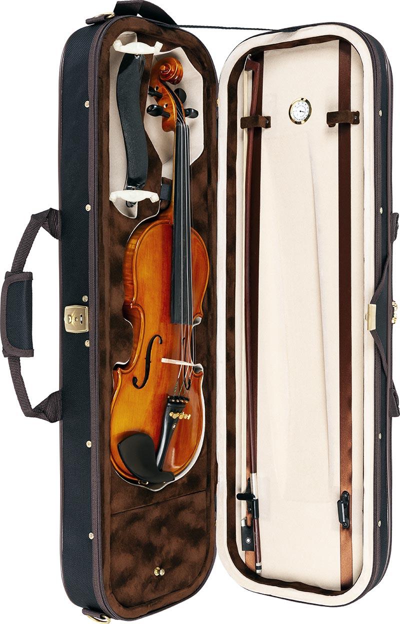 vk844 violino eagle vk844 estojo aberto vertical